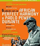 AFRICAN PERFECT HARMONY guest PAOLO PEWEE DURANTE